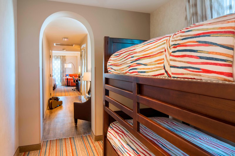 Courtyard Anaheim Theme Park Entrance-King Guest Room - Bunk Bed Area<br/>Image from Leonardo