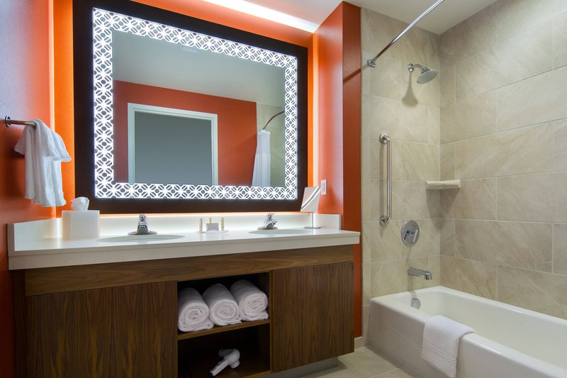 Courtyard Anaheim Theme Park Entrance-Guest Bathroom<br/>Image from Leonardo