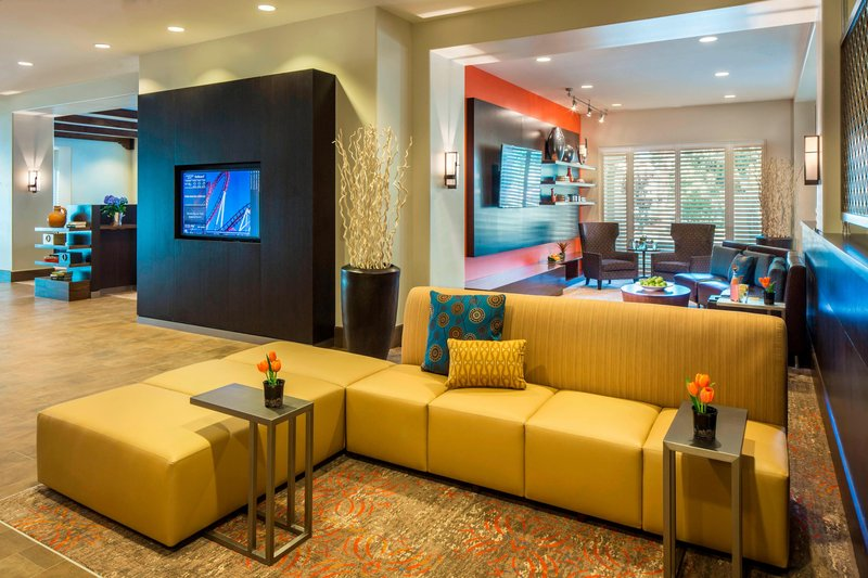 Courtyard Anaheim Theme Park Entrance-GoBoard® & Home Theatre Area<br/>Image from Leonardo