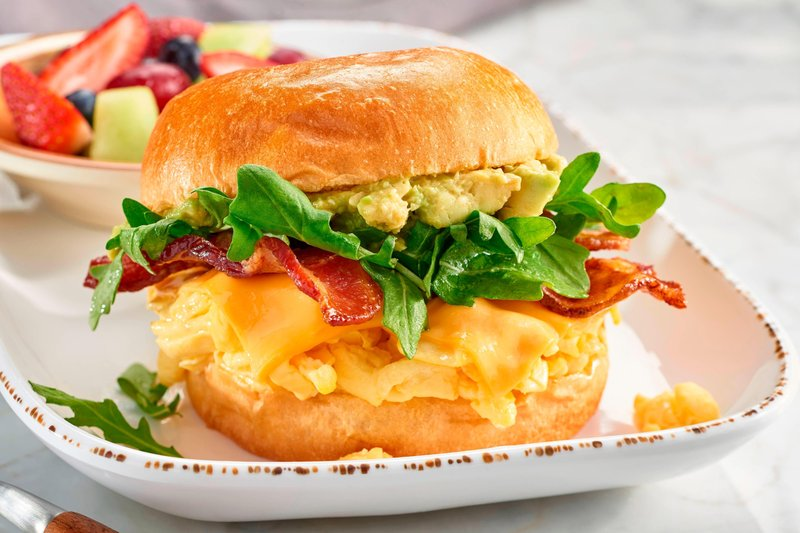 Courtyard Anaheim Theme Park Entrance-Bistro Breakfast Sandwich<br/>Image from Leonardo