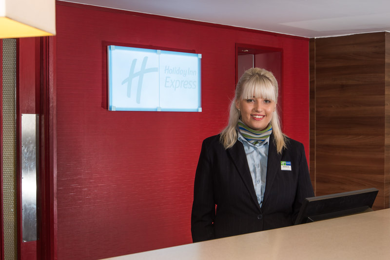 Holiday Inn Express Stoke On Trent-You'll be greeted with a friendly smile and a warm welcome<br/>Image from Leonardo