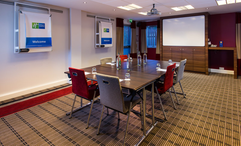 Holiday Inn Express Stoke On Trent-Free car parking is available for delegates attending a meeting<br/>Image from Leonardo