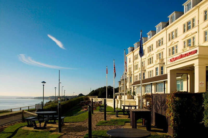 Bournemouth Highcliff Marriott Hotel-Entrance<br/>Image from Leonardo