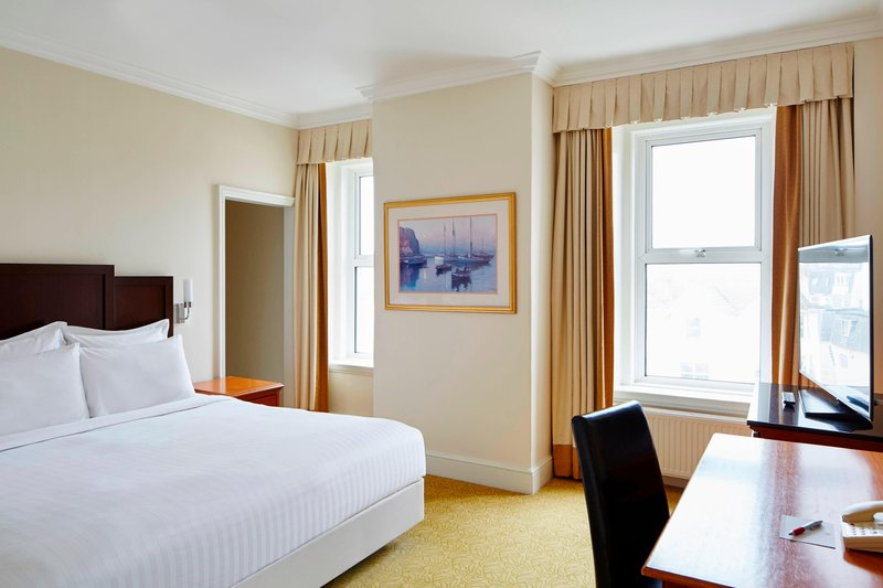 Bournemouth Highcliff Marriott Hotel-Deluxe Guest Room<br/>Image from Leonardo