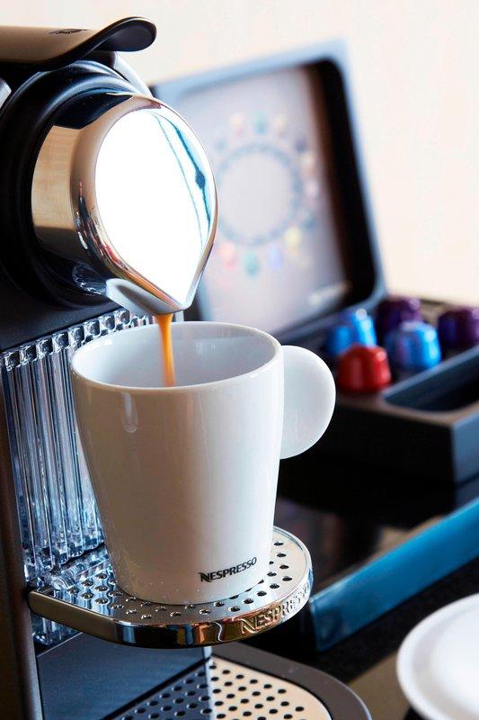Bournemouth Highcliff Marriott Hotel-Nespresso Machine<br/>Image from Leonardo