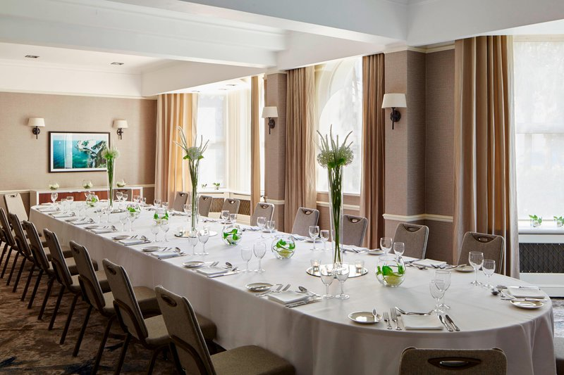 Bournemouth Highcliff Marriott Hotel-Sherborne Suite - Private Dining<br/>Image from Leonardo