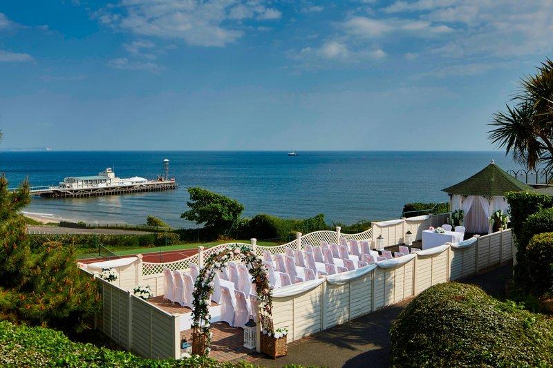 Bournemouth Highcliff Marriott Hotel-Gazebo<br/>Image from Leonardo