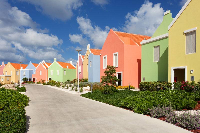 Courtyard Bonaire Dive Resort-Casita Walkway<br/>Image from Leonardo