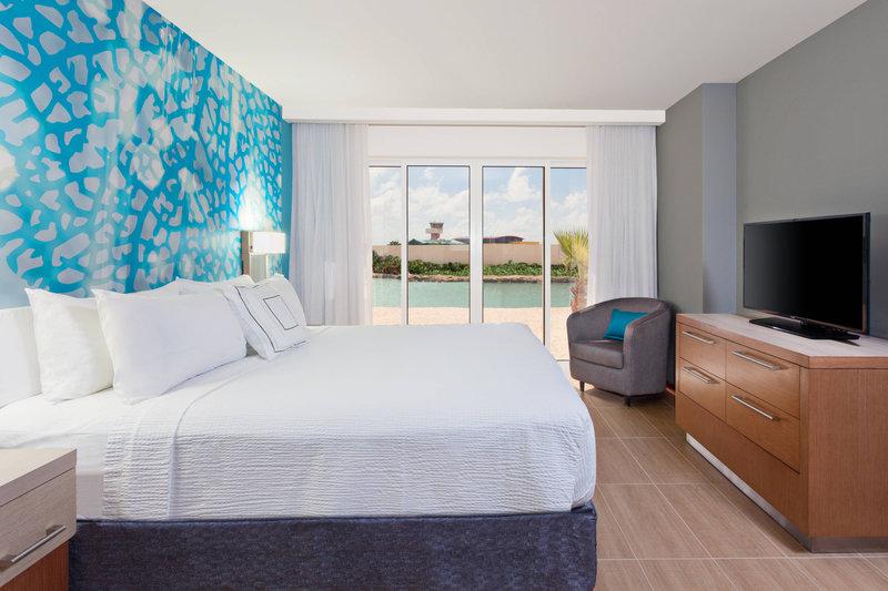 Courtyard Bonaire Dive Resort-Suite - Sleeping Area<br/>Image from Leonardo