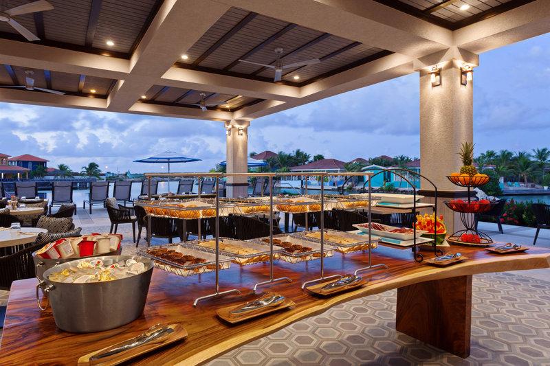 Courtyard Bonaire Dive Resort-Breakfast Buffet<br/>Image from Leonardo