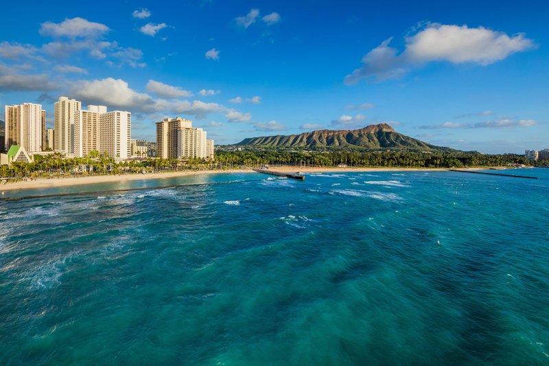 Waikiki Beach Marriott Resort  - Diamond Head Hotel Views <br/>Image from Leonardo