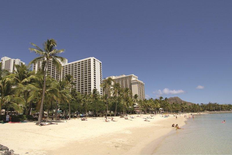 Waikiki Beach Marriott Resort  - Beach View <br/>Image from Leonardo
