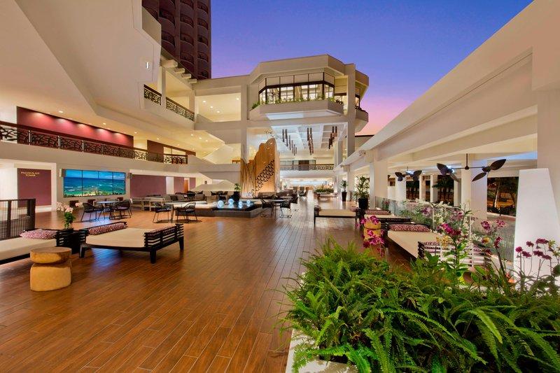 Waikiki Beach Marriott Resort  - Nanea Lobby <br/>Image from Leonardo