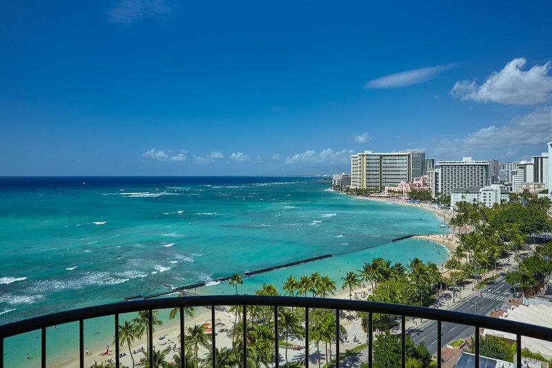 Waikiki Beach Marriott Resort  - Ocean Front Guest Room View <br/>Image from Leonardo