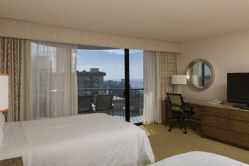 Waikiki Beach Marriott Resort  - Kealohilani Tower Double/Double Premium Ocean View Room <br/>Image from Leonardo