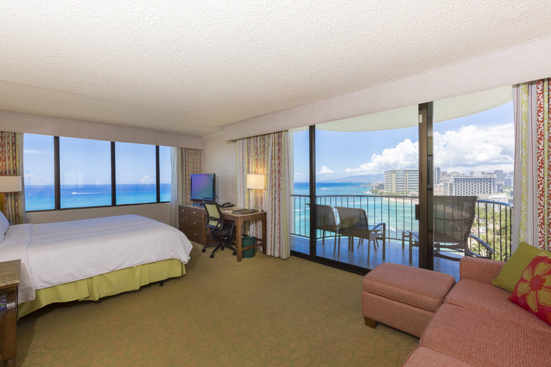 Waikiki Beach Marriott Resort  - Oceanfront Junior Suite <br/>Image from Leonardo