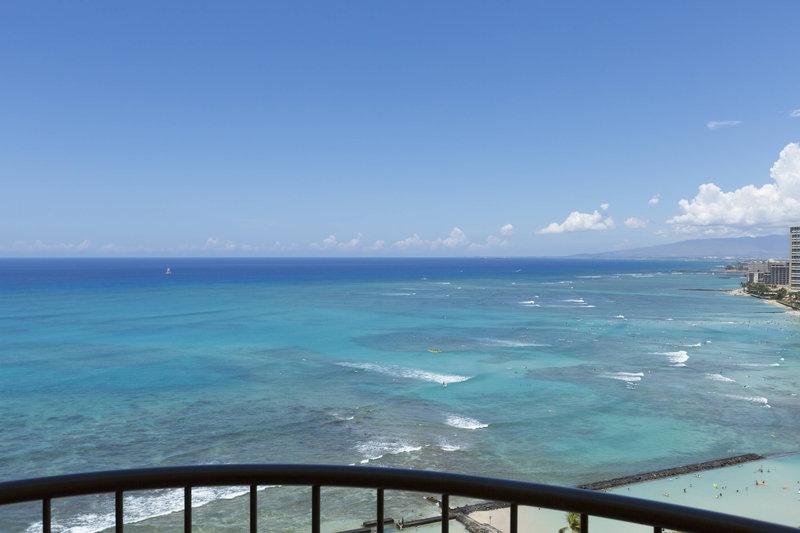 Waikiki Beach Marriott Resort  - Oceanfront Junior Suite View <br/>Image from Leonardo