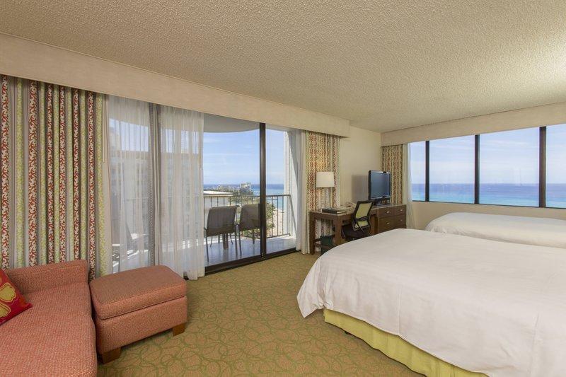 Waikiki Beach Marriott Resort  - Ocean View Junior Suite <br/>Image from Leonardo