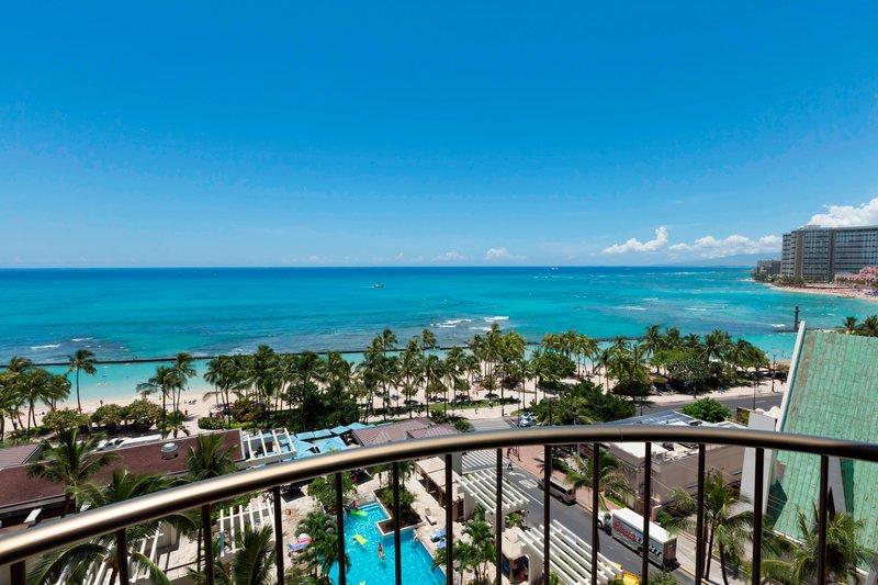 Waikiki Beach Marriott Resort  - One-Bedroom Suite Ocean View <br/>Image from Leonardo