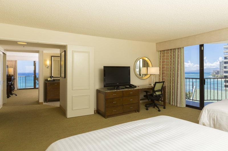 Waikiki Beach Marriott Resort  - One-Bedroom Queen/Queen Suite - Ocean View <br/>Image from Leonardo