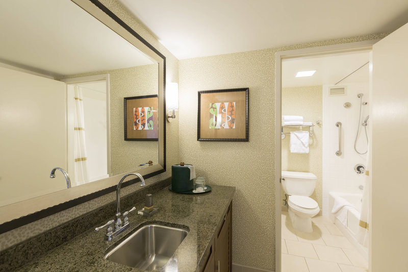 Waikiki Beach Marriott Resort  - One-Bedroom Suite - Bathroom <br/>Image from Leonardo