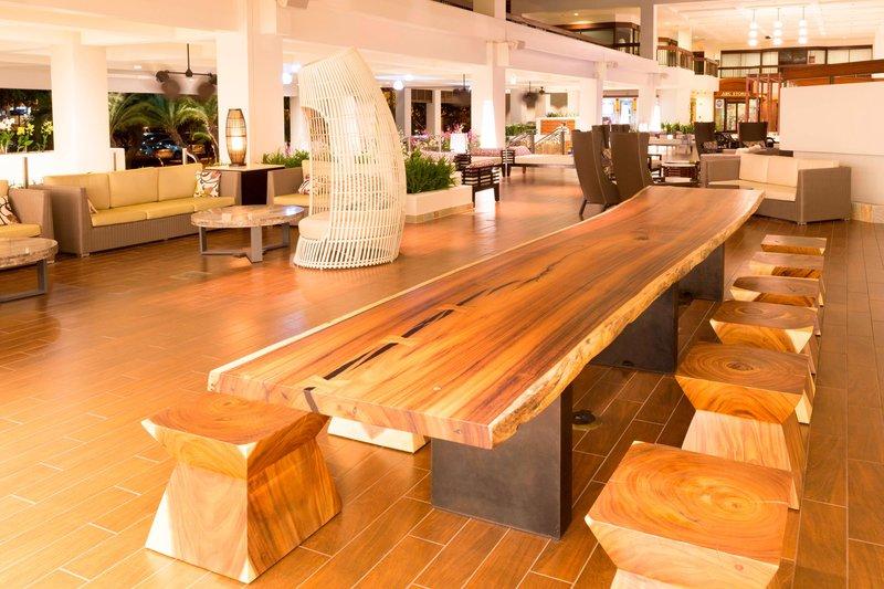 Waikiki Beach Marriott Resort  - Communal Table <br/>Image from Leonardo