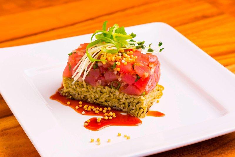 Waikiki Beach Marriott Resort  - Kuhio Beach Grill Classic Ahi Poke <br/>Image from Leonardo