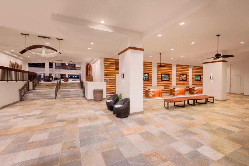 Waikiki Beach Marriott Resort  - Group Arrival Lobby <br/>Image from Leonardo