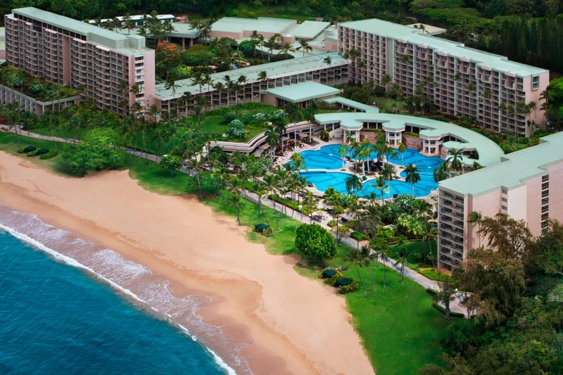 Kauai Marriott Resort-Exterior - Aerial View<br/>Image from Leonardo