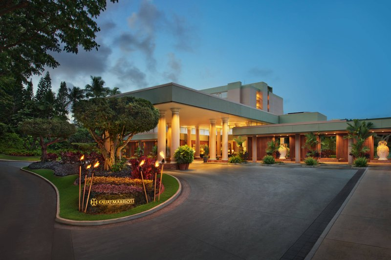 Kauai Marriott Resort-Entrance<br/>Image from Leonardo
