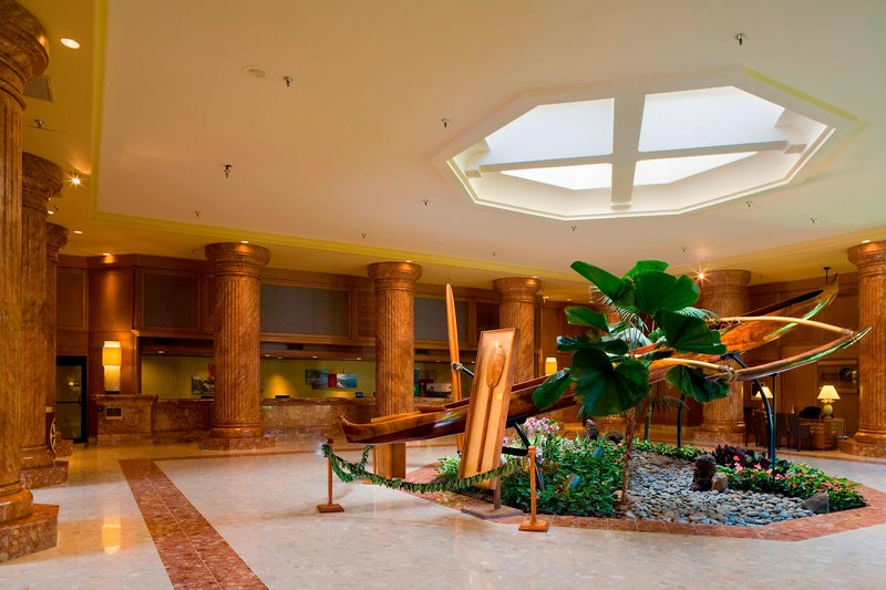 Kauai Marriott Resort-Lobby<br/>Image from Leonardo