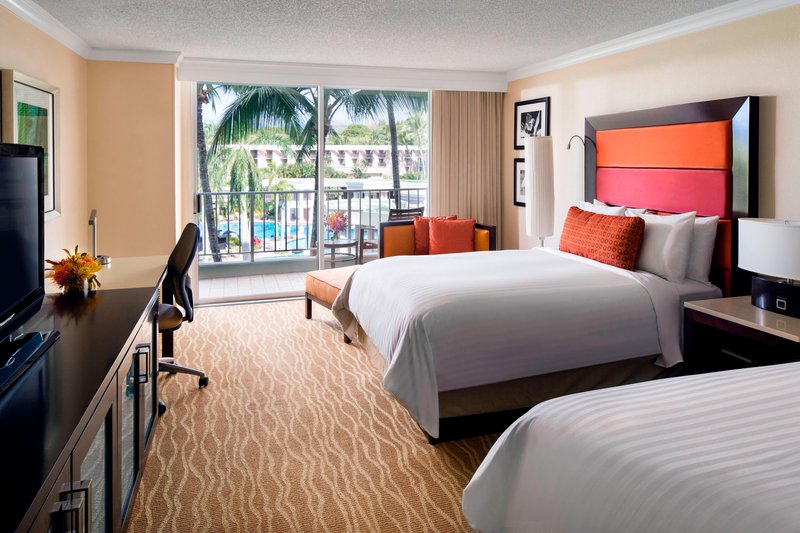 Kauai Marriott Resort-Double/Double Pool View Guest Room<br/>Image from Leonardo