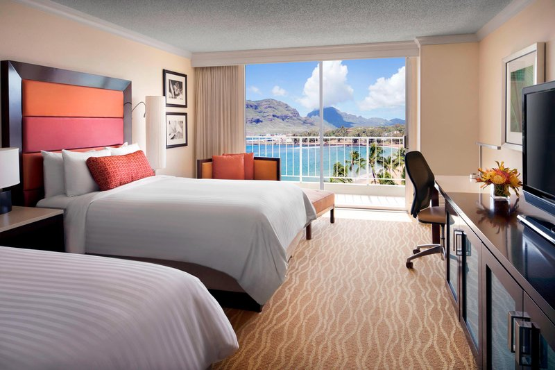 Kauai Marriott Resort-Double/Double Ocean View Guest Room<br/>Image from Leonardo