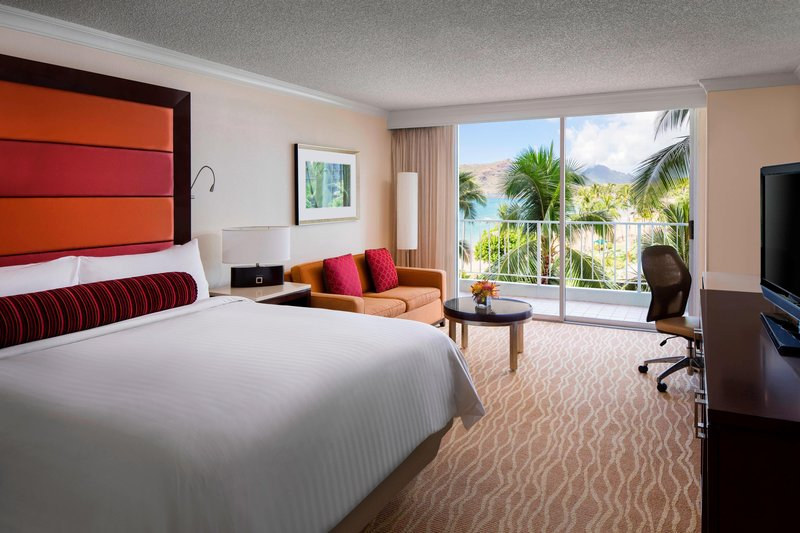 Kauai Marriott Resort-King Partial Ocean View Guest Room<br/>Image from Leonardo