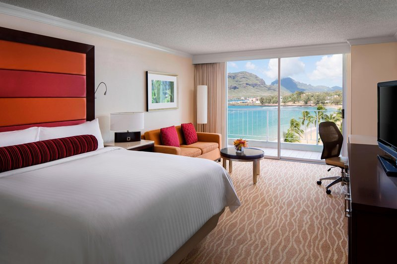 Kauai Marriott Resort-King Ocean View Guest Room<br/>Image from Leonardo