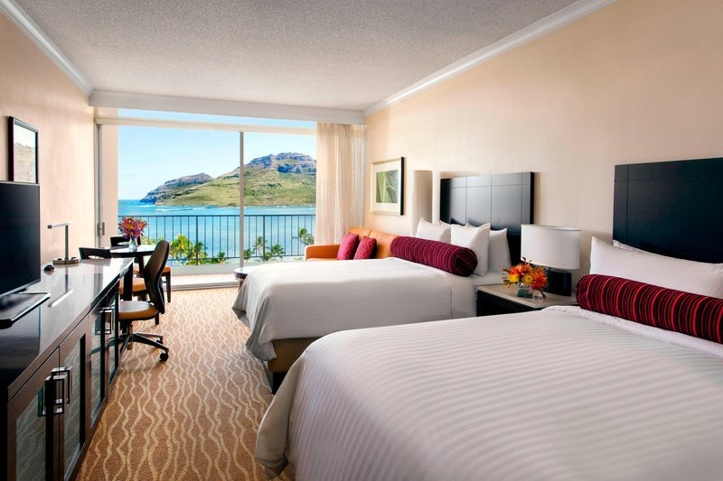 Kauai Marriott Resort-Deluxe Ocean View Guest Room<br/>Image from Leonardo
