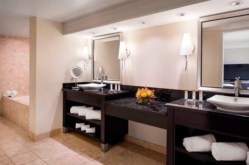 Kauai Marriott Resort-King Suite Bathroom<br/>Image from Leonardo