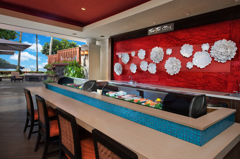 Kauai Marriott Resort-Toro Tei Sushi Bar<br/>Image from Leonardo