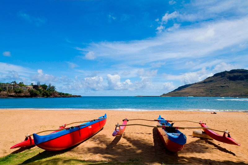 Kauai Marriott Resort-Beach Activities<br/>Image from Leonardo