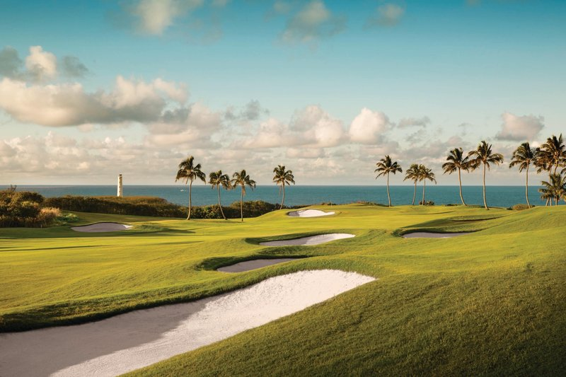Kauai Marriott Resort-Ocean Course at Hokuala - 13th Hole<br/>Image from Leonardo