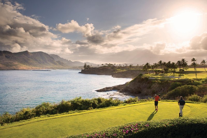 Kauai Marriott Resort-Ocean Course at Hokuala<br/>Image from Leonardo