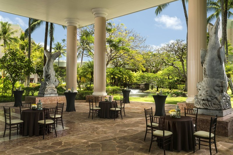 Kauai Marriott Resort-Puna Court Events<br/>Image from Leonardo
