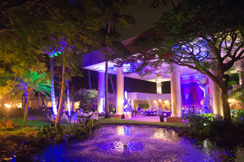 Kauai Marriott Resort-Puna Court Outdoor Event<br/>Image from Leonardo