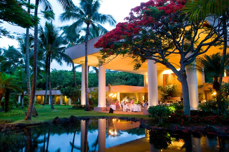 Kauai Marriott Resort-Puna Court Outdoor Events<br/>Image from Leonardo