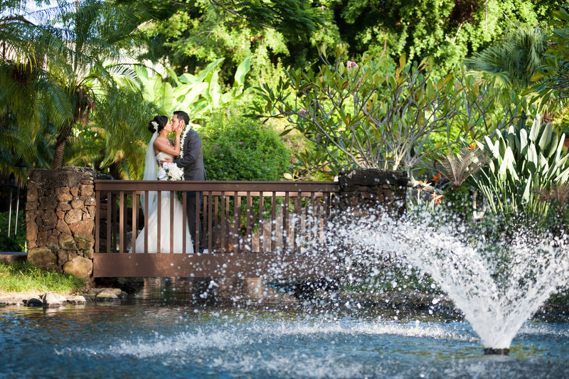 Kauai Marriott Resort-Kauai Marriott Resort Garden Wedding<br/>Image from Leonardo