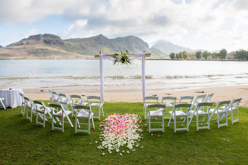 Kauai Marriott Resort-Beachfront Wedding<br/>Image from Leonardo