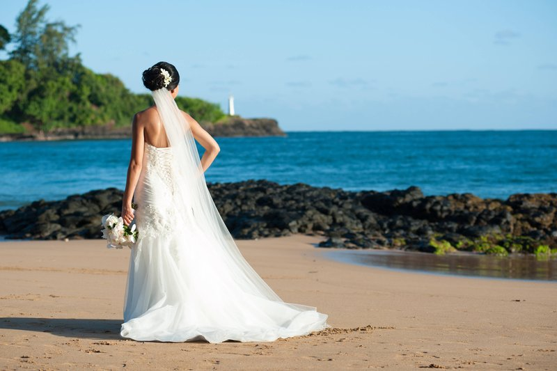 Kauai Marriott Resort-Kalapaki Bay Bride<br/>Image from Leonardo