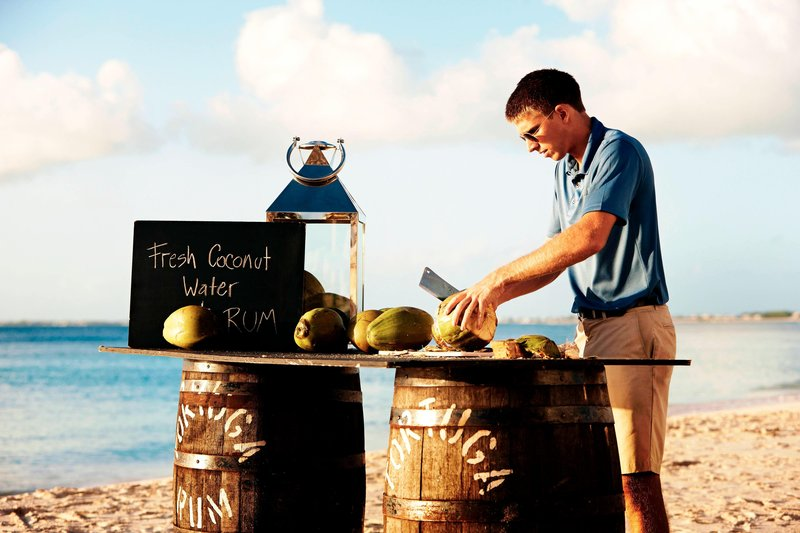 Marriott Grand Cayman-Beach Beverages – Coconut Water<br/>Image from Leonardo