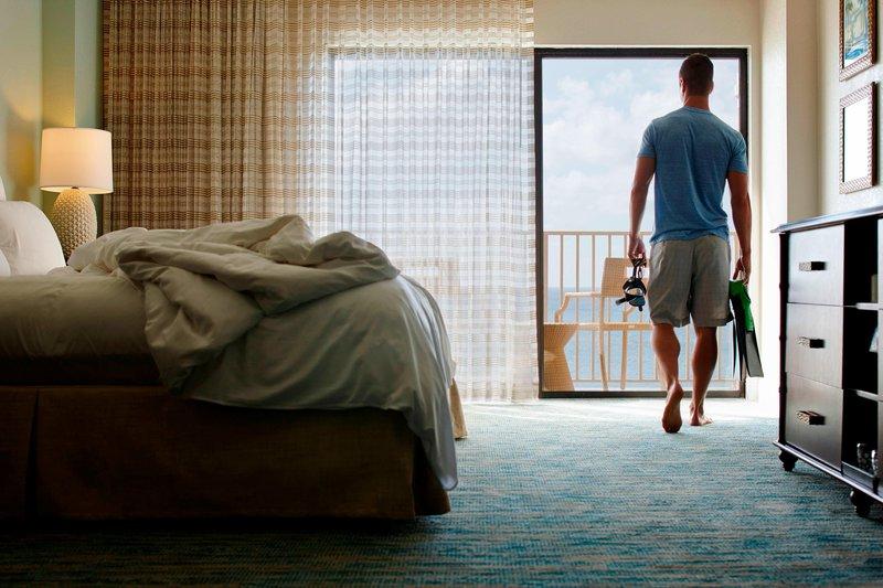 Marriott Grand Cayman-Ocean Front Room<br/>Image from Leonardo