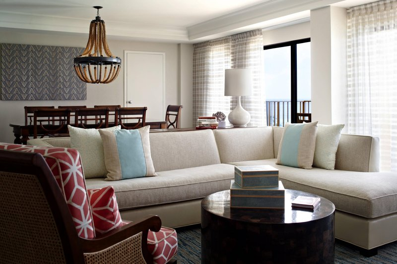 Marriott Grand Cayman-One-Bedroom Suite - Living & Dining Room<br/>Image from Leonardo